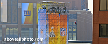 stock ground photography of Indianapolis Super Bowl Village